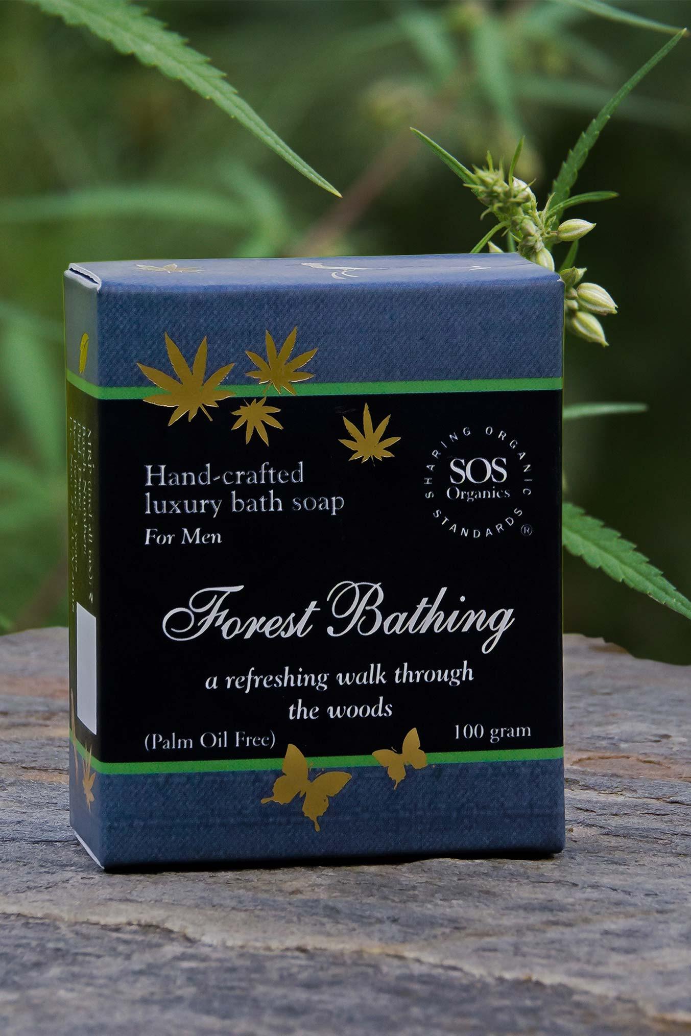 Hemp Soap for Men-Forest Bathing
