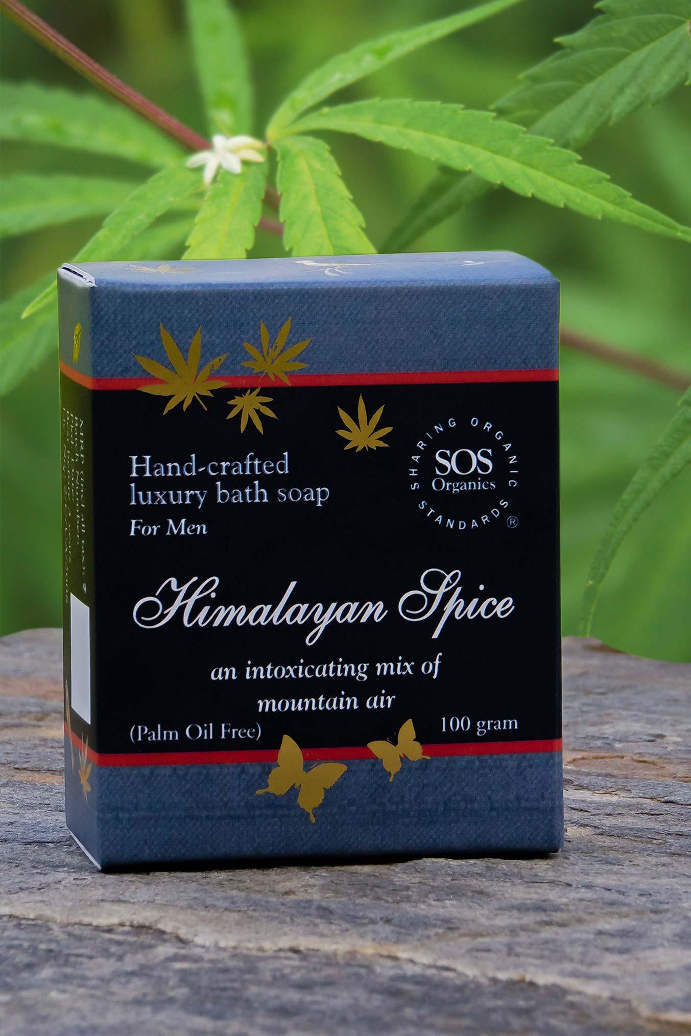 Hemp Soap for Men-Himalayan Spice